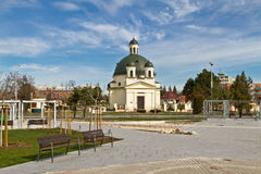 Rozalia Church in Komarno. Royalty Free Stock Image