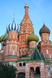 rozanielona katedra s vasily Obrazy Royalty Free