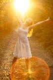 rozanielony światło słoneczne obrazy royalty free