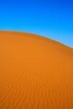 rozanielony diun piaska widok zdjęcia royalty free