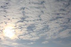 Rozanielony niebo zdjęcie stock