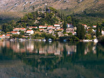 Rozat town in Croatia Royalty Free Stock Photo