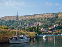 Rozat town in Croatia Stock Photography