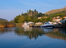 Rozat town in Croatia Stock Photos