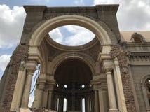 Rozbiórka świątynia obrazy royalty free