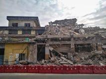 rozbiórka budynków, stara Fotografia Royalty Free