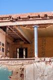 rozbiórka budynków, stara Obrazy Stock