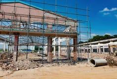 rozbiórka budynków, stara Fotografia Stock