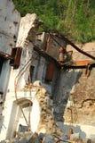 Rozbiórka stary fabryczny budynek Obraz Royalty Free