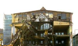 Rozbiórka stary fabryczny budynek Zdjęcie Stock