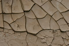 rozbić pustynię brud Obraz Stock