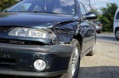 Rozbijający samochodowy szczegół zdjęcia royalty free