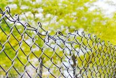 rozbite ogrodzenie Fotografia Royalty Free