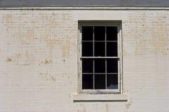rozbite okno Obraz Royalty Free