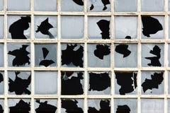 rozbite okno Zdjęcie Royalty Free