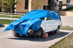 rozbity samochód Obraz Stock