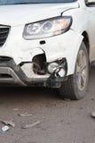 rozbity samochód Obrazy Stock