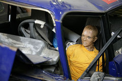 rozbity samochód Zdjęcia Royalty Free