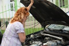 rozbity samochód Obraz Royalty Free