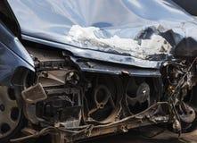 rozbity samochód Zakończenie Fotografia Royalty Free