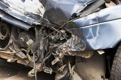 rozbity samochód Zakończenie Obraz Royalty Free