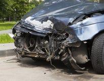 rozbity samochód Zakończenie Obrazy Stock