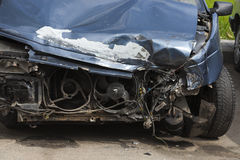 rozbity samochód Zakończenie Obraz Stock
