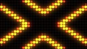 Rozblaskowego światła ściany zestaw Mrugać światła VJ Rozblaskowych świateł VJ sceny tła Ścienna pętla ilustracji