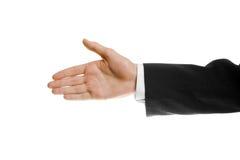 rozciągający ręka uścisk dłoni Obraz Stock