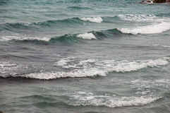 Rozciągliwość morze i plaża Zdjęcia Royalty Free