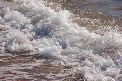 Rozciągliwość morze i plaża Fotografia Royalty Free