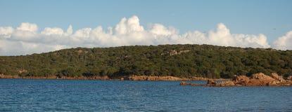 Rozciągliwość morze i wybrzeże Zdjęcia Stock
