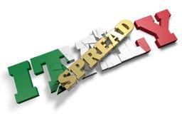 Rozciągnięty przyduszenie Włochy Zdjęcia Royalty Free