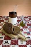 rozcięcie deskowy chlebowy pokaz Zdjęcie Royalty Free