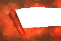 rozdarty papieru Zdjęcia Stock