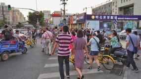 Rozdroże ruch drogowy Beijing 3 zdjęcie stock