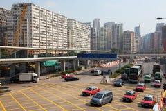 Rozdroże w Hong Kong, Chiny obraz stock
