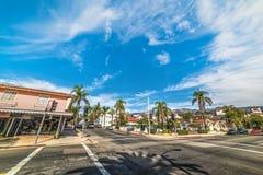 Rozdroże w Santa Barbara fotografia royalty free