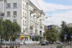 Rozdroża antyczne ulicy miasto Zdjęcie Stock