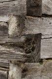 Rozdrobnić drewnianą powierzchnię Obraz Stock
