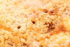 Rozdrobni kulebiaka, zbliżenie Obraz Stock