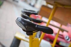 Rozdziela rowerowego koło, łańcuch, rower rama, rowerowy siedzenie fotografia royalty free