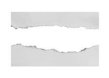 Rozdzierający i Drzejący papier Obrazy Stock
