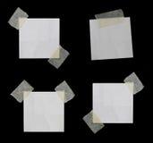 Rozdzierający papier i Drzejący papier Fotografia Stock