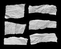 Rozdzierający papier i Drzejący papier Zdjęcie Stock