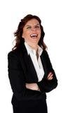 roześmiana kobieta fotografia royalty free