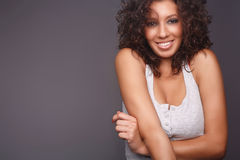 roześmiane ładne kobiety Zdjęcie Stock