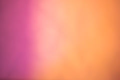 Roze aan sinaasappel vage Achtergrond Stock Afbeelding