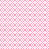Roze abstract naadloos patroon Royalty-vrije Stock Afbeeldingen