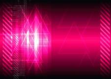 Roze abstracte achtergrond Royalty-vrije Stock Afbeelding